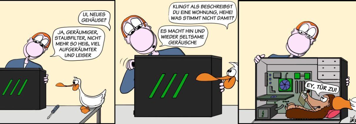 Der Wo Ente: Es zieht!