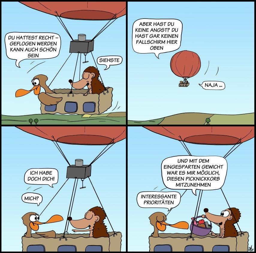 Der Wo Ente: Klarer Fall von klarem Himmel