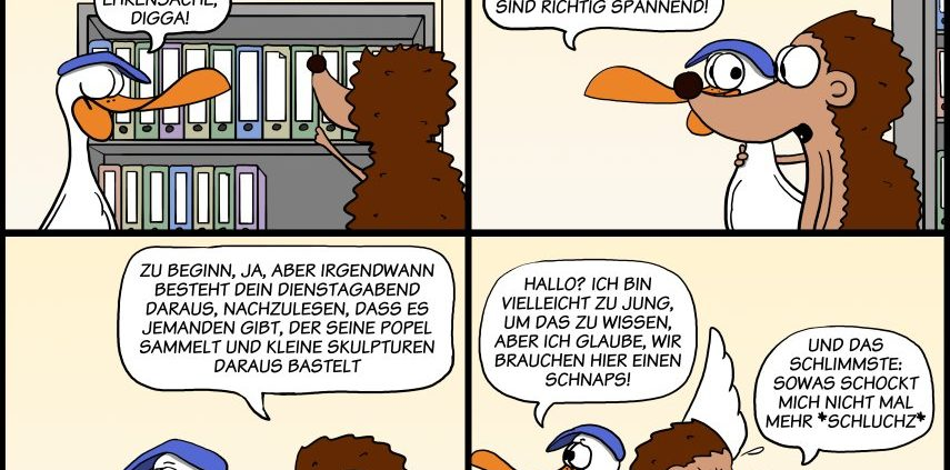 Der Wo Ente: Erstmal n Schnaps