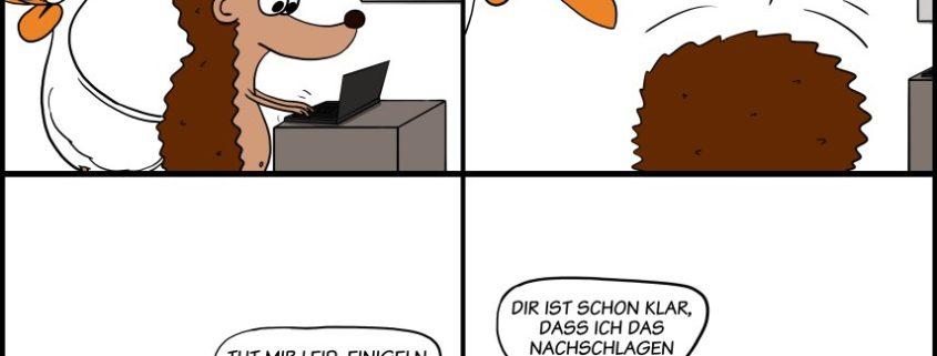 Der Wo Ente: Stressreflexe