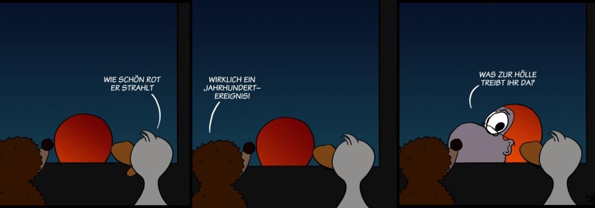 Der Wo Ente: Blutmond