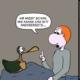 Der Wo Ente: Hin- und hergerissen