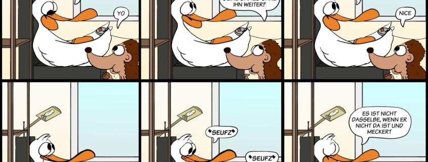 Der Wo Ente: No Malte, no Geschrei