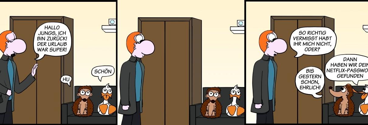 Der Wo Ente: Vermiss-mein-nicht