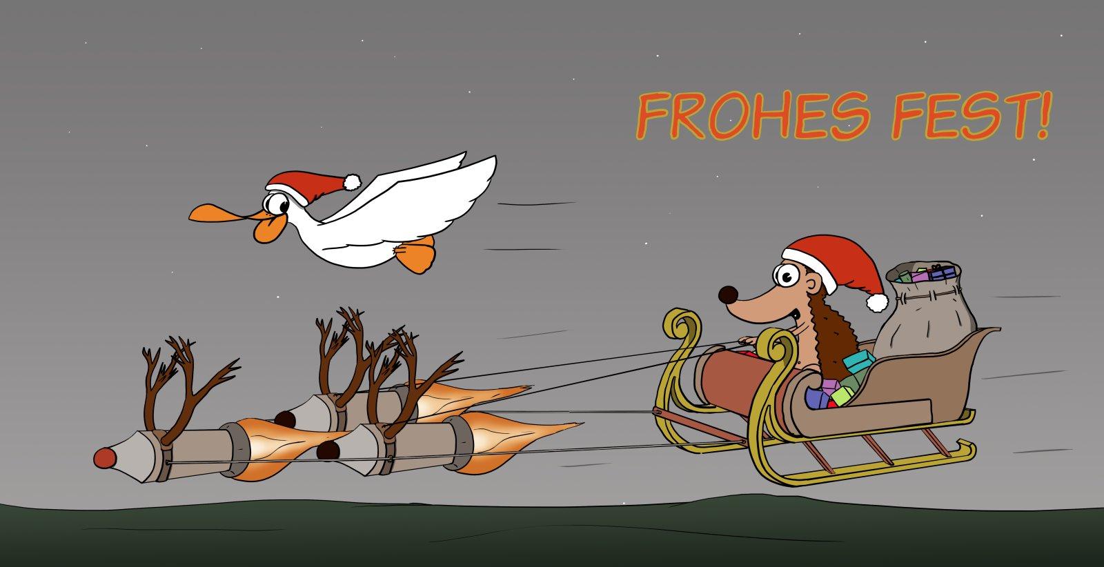 Der Wo Ente: Frohes Fest 2018