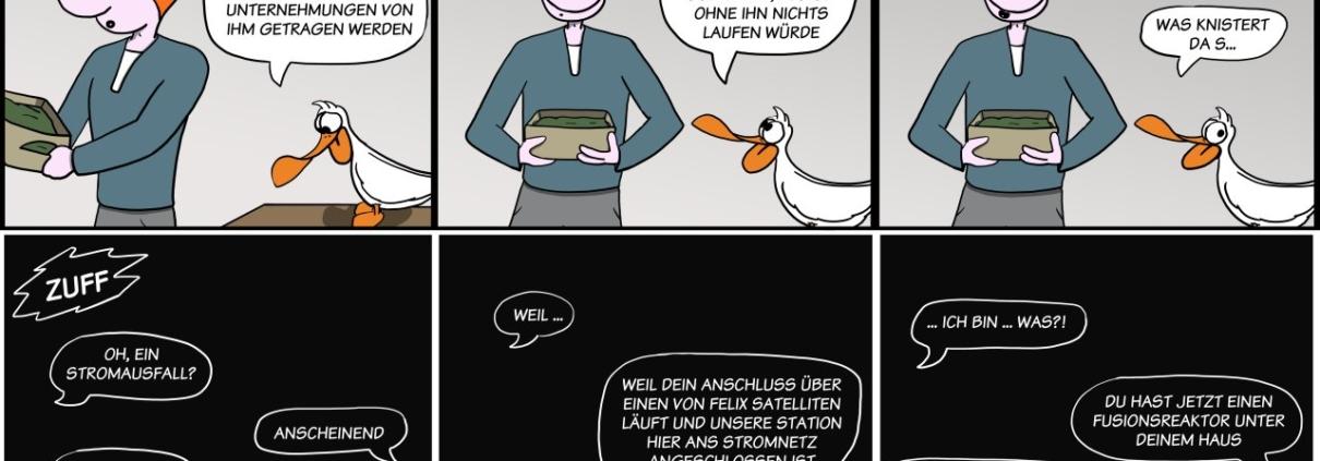 Der Wo Ente: Weltuntergängchen
