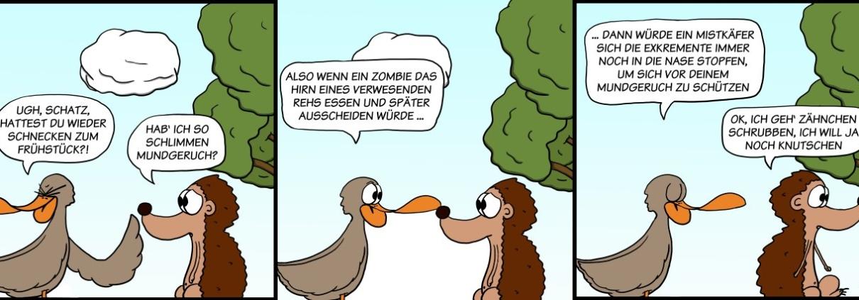Der Wo Ente: Olfaktorische Belastung