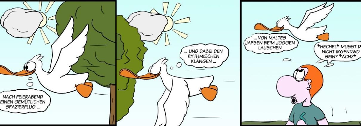 Der Wo Ente: Wer den Sport hat, spottet jeder Beschreibung