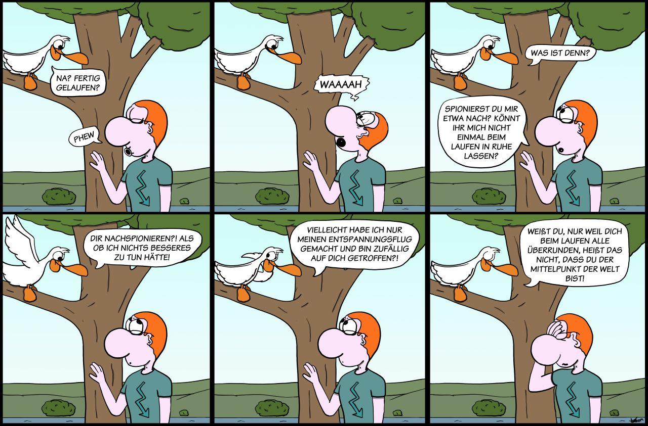 Der Wo Ente: Einer flog über den Boden der Tatsachen