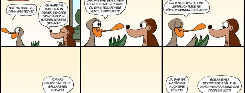 Der Wo Ente: Verdrängung