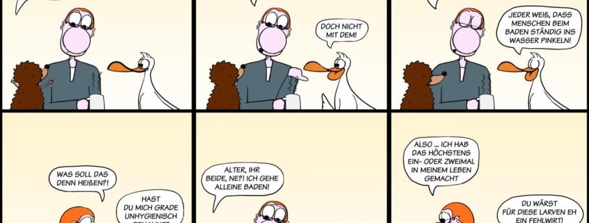 Der Wo Ente: Szenen einer eheähnlichen Gemeinschaft