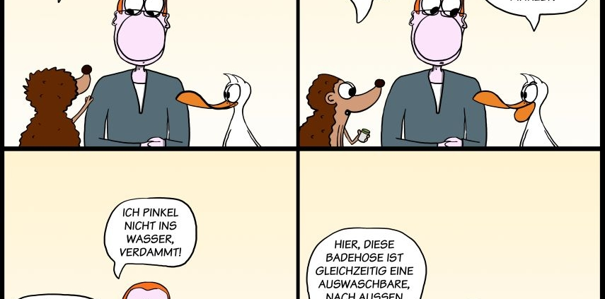 Der Wo Ente: Sicherheit geht vor