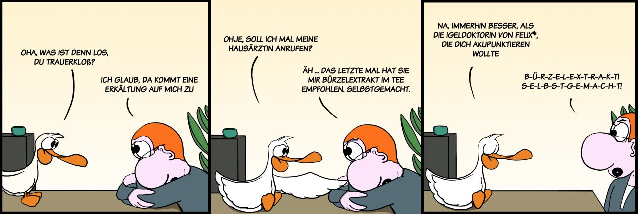 Der Wo Ente: Hausmittelchen
