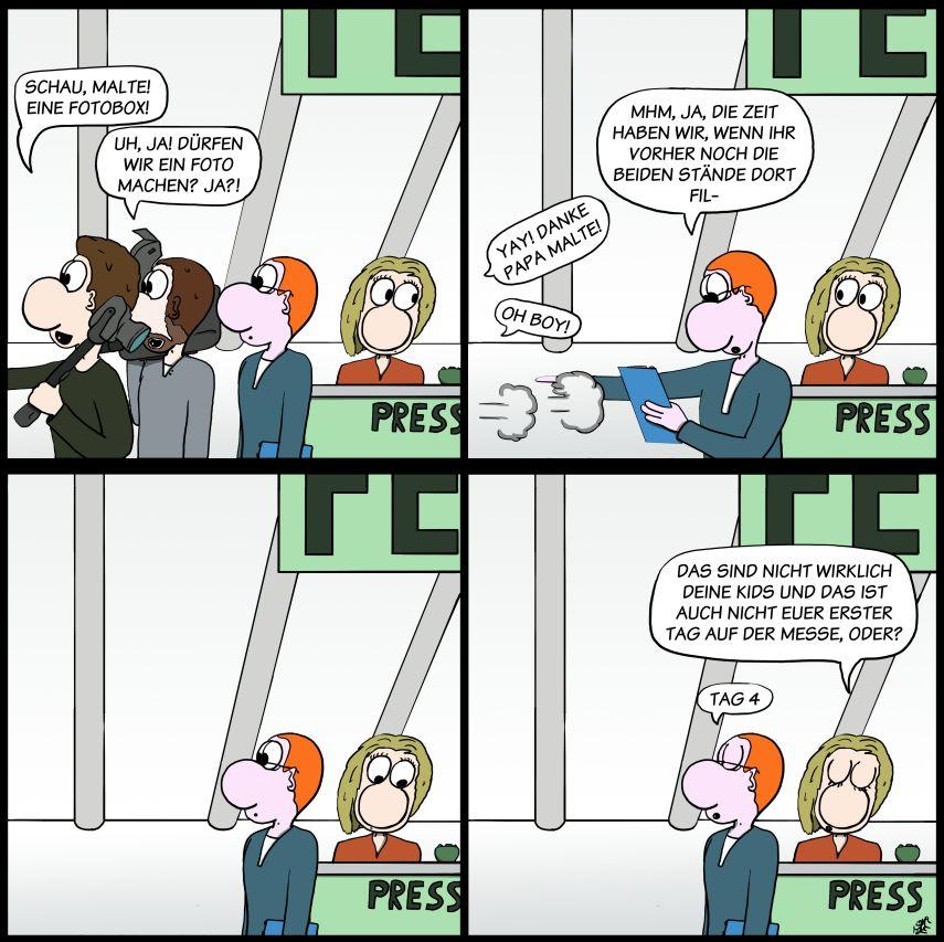 Der Wo Ente: Messekoller
