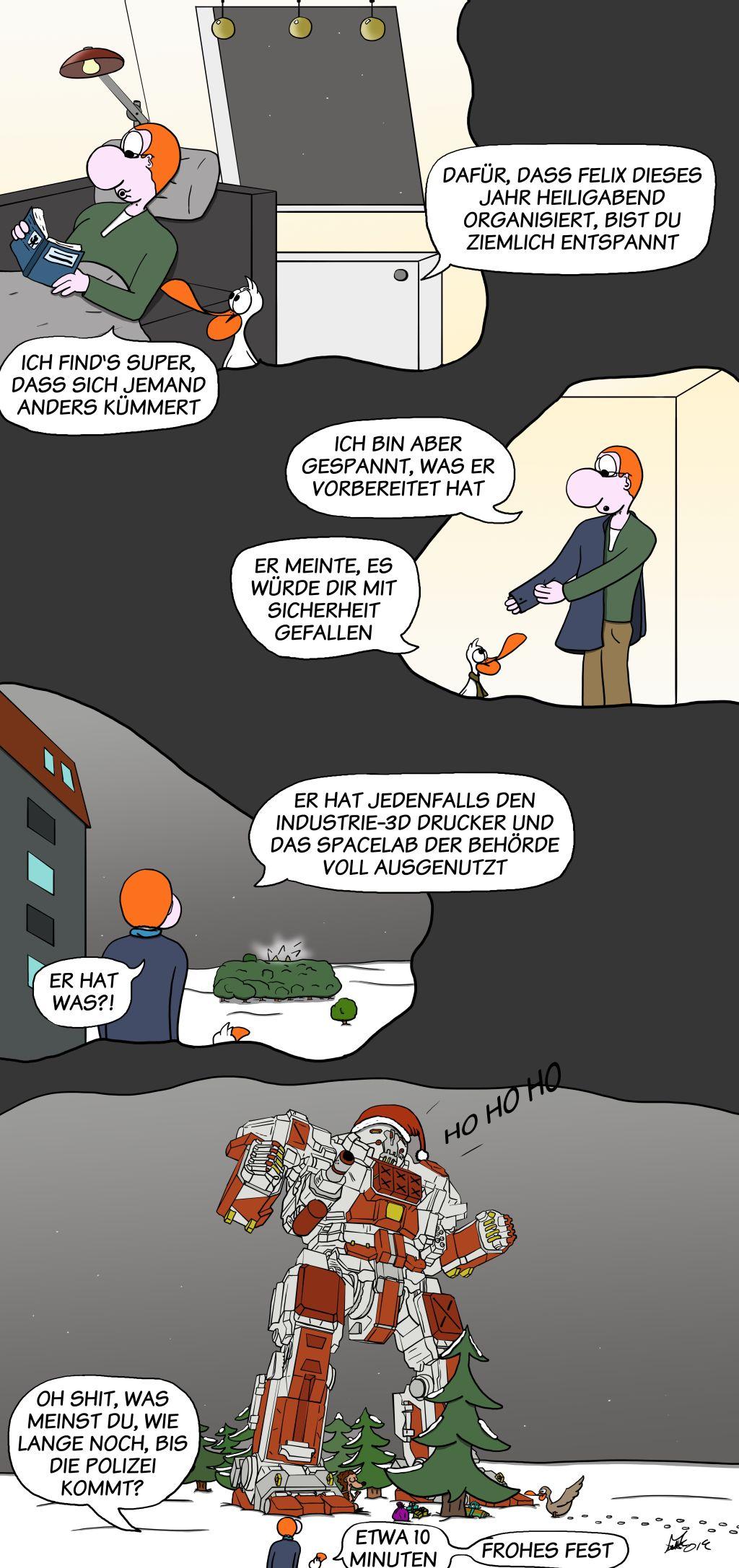 Der Wo Ente: Weihnachten 2019