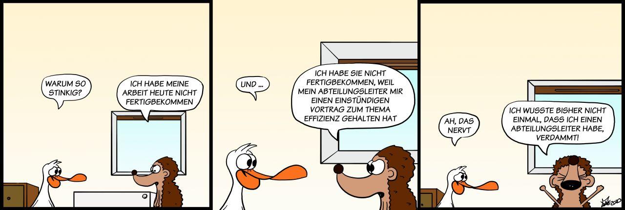 Der Wo Ente: Vorgesetzt