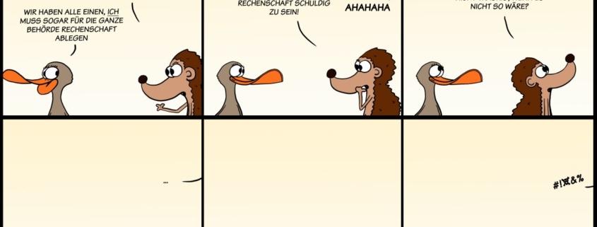 Der Wo Ente: Langsam schleicht das Drama