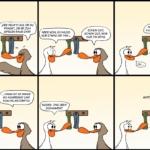 Der Wo Ente: Welche Gegensätze?