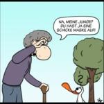 Der Wo Ente: Maskenpflicht macht Maskenwicht